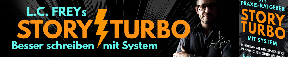 StoryTurbo: Besser schreiben mit System! Logo